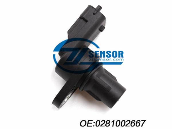 crankshaft position sensor for Mondeo Alfa Romeo Brera Citroen Jumper Peugeot Boxer Ford Hyundai Sonata Opel Volvo OE:0281002667