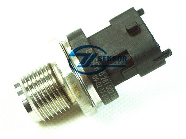 1800Bar Fuel Rail Pressure Sensor OE: 0281002706 For CUMMINS VOLVO IVECO MAN FIAT JACK RENAULT
