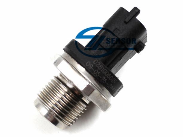 Common Rail Pressure Sensor for BOSCH Volvo S60 V70 XC90 Ford KA Suzuki Wagon Saab 9-3 Fiat Iveco Cummins 0281006364