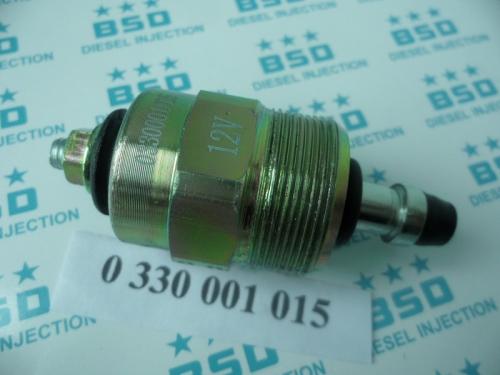 0330001015 12V Dodge Cummins Diesel Fuel Stop Shutoff Solenoid valve 0 330 001 015
