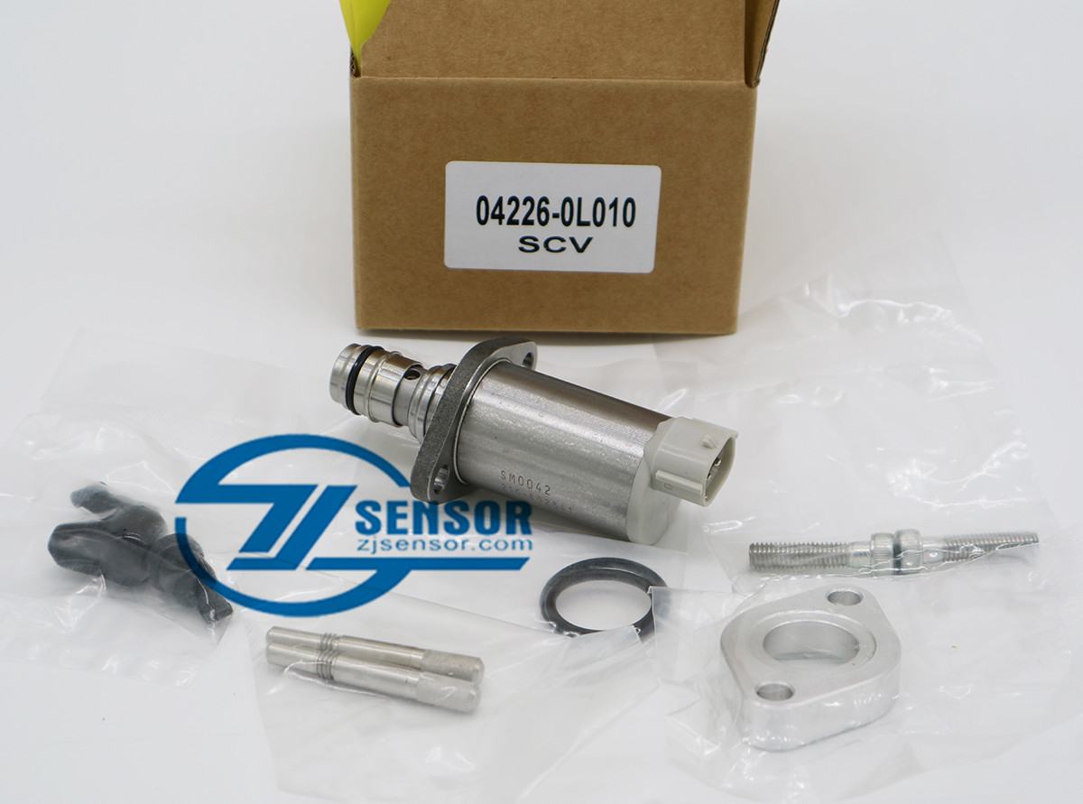 04226-0L010 Diesel Pump SCV Valve Kit Suction Control Valve for TOYOTA Hilux Hiace 2KD