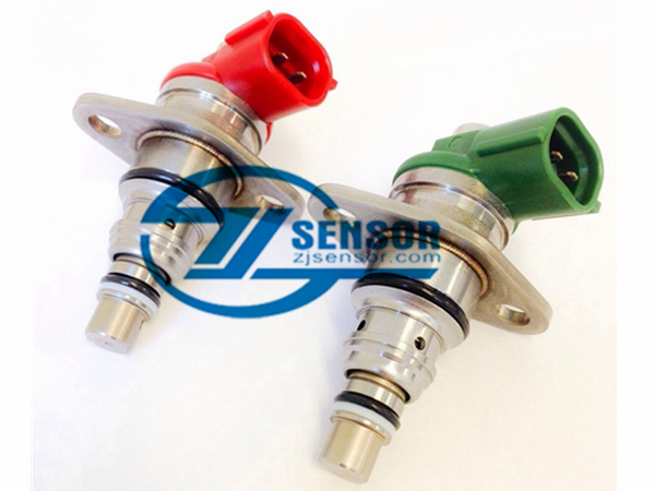 one pair Suction Control Valve (SCV) for Toyota Rav4 Avensis Ni-ssan X-Trail 2.2 D4D OE:096710-0120 (red) + 096710-0130