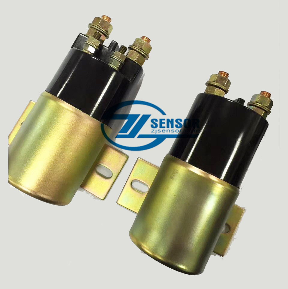 165-4026 24V CAT start relay suction solenoid valve 3T-0376 for Caterpillar excavator E320C 320C