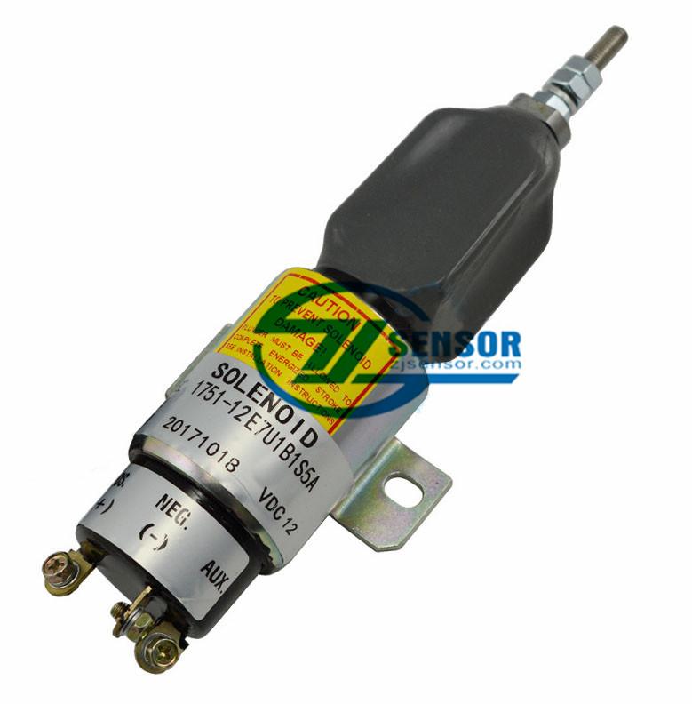 1751-12E7U1B1S5A 12VDC shutdown shutoff solenoid valve 1700-2536,3864274,SA-3766-T SA-3933