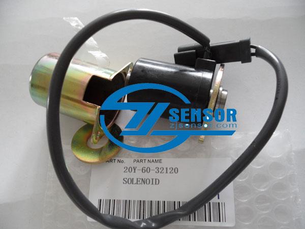 20Y-60-32120 Rotary Solenoid Valve