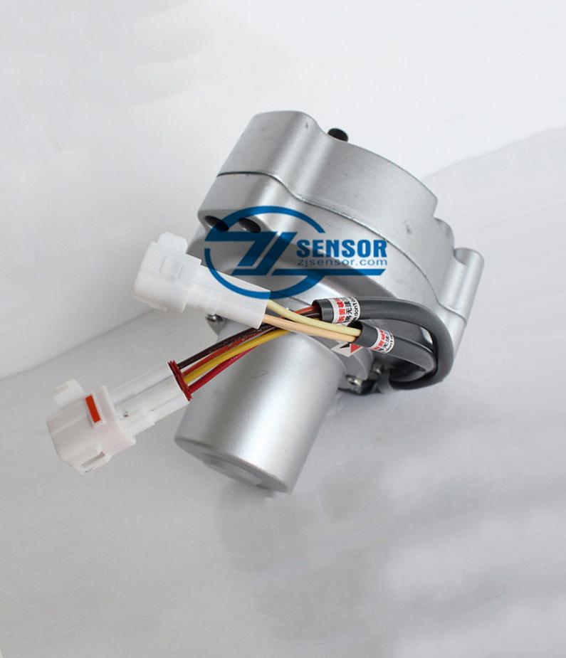 2406U197F4 Throttle motor stepping motor assy for KOBELCO SK120-3/6 SK200-3/5 excavator Governor Motor