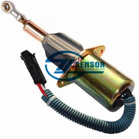 3939019 24V SA-4889-24 3991201 shutoff ShutDown solenoid for cummins 6CT