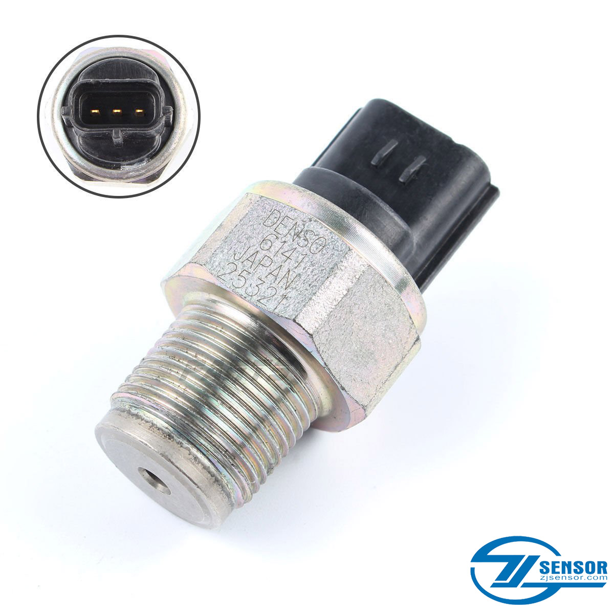 499000.6141 Common Rail Pressure Sensor For Komatsu