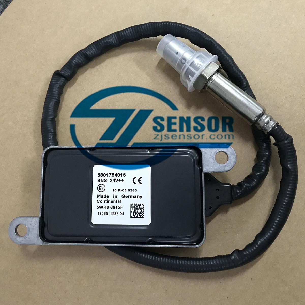 5801754015 Nitrogen Oxide NOX Sensor 5WK96615F SNS24V for IVECO