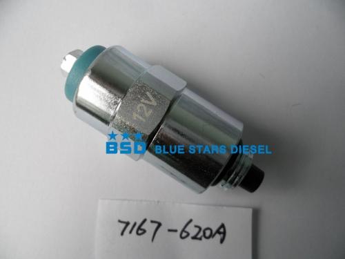 7167-620A 12V for LUCAS DPA pump Diesel Stop Solenoid valve RE22744,RE54064,7185-900W