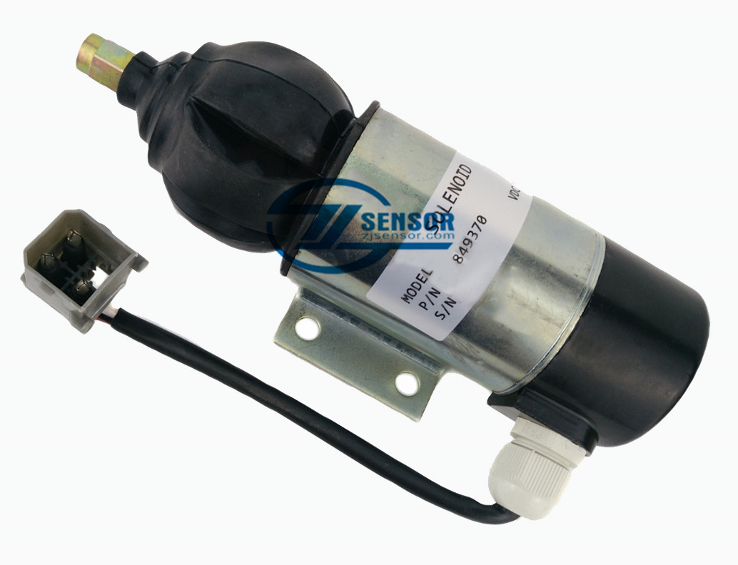 849370 12V Fuel Shutdown Solenoid 859079,872826 for PERKINS, VOLVO PENTA