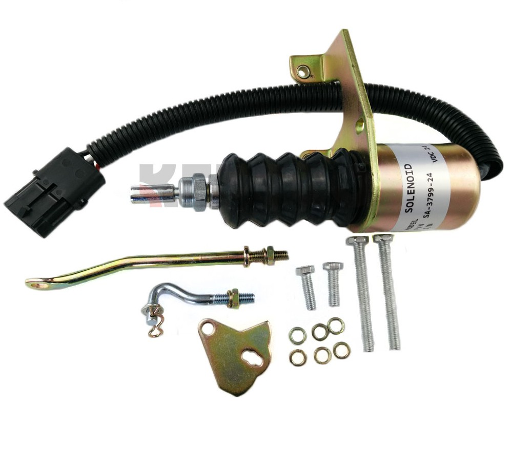 SA-3799-24 Fuel Kits Solenoid Shutdown For Bosch RSV, 24v
