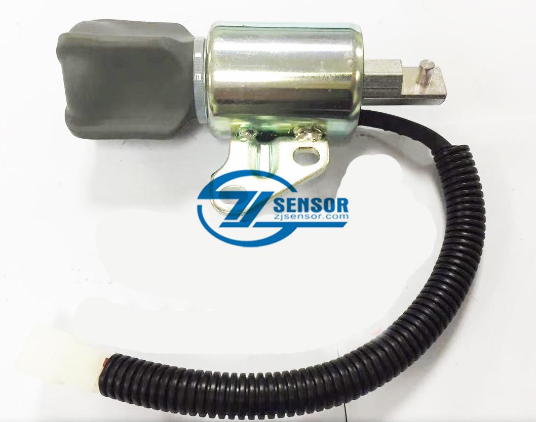 SA-5176-12 fuel stop solenoid 12V SA-5176 1756ES-12SUC5B1S5 For Kubota D722 D902 Z482